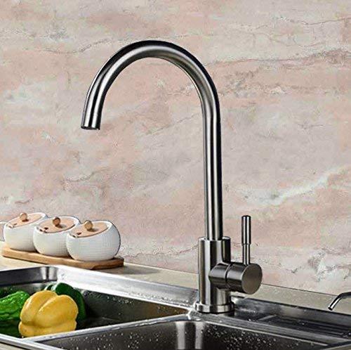 Faucets Faucets Vaatwasser, afwas, spoelbak, keuken, RVS draad, Plantaardige wastafel, warm en koud water kranen.