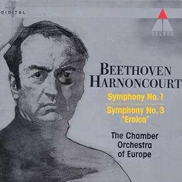 Beethoven : Symphonies Nos 1 & 3, 'Eroica'