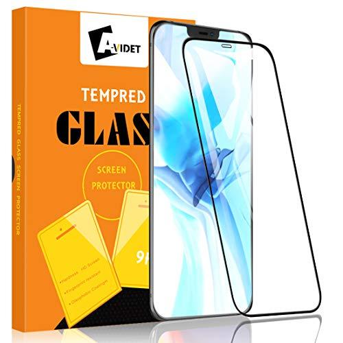 A-VIDET 2 Pezzi Pellicola Vetro Temperato per iPhone 12 PRO/iPhone 12 Max, [Anti-Graffo/Olio/Impronta] con 9H Durezza Protezione Elevata Pellicola Protettiva per iPhone 12 PRO/iPhone 12 Max