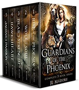 Guardians of the Phoenix Box Set: Books 1-5: Guardians of the Fae Realms by [JL Madore]