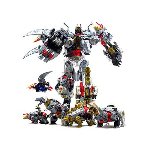 Jetta King Juguetes de Transformers, El Poder del Rey de la Cuerda de la Shura Tianyuan Dinosaurios Fit Howling Acero Hierro escoria dardo Limo