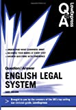 Law Express Question and Answer: English Legal System Law (Q&A Revision Guide) (Law Express Questions & Answers)