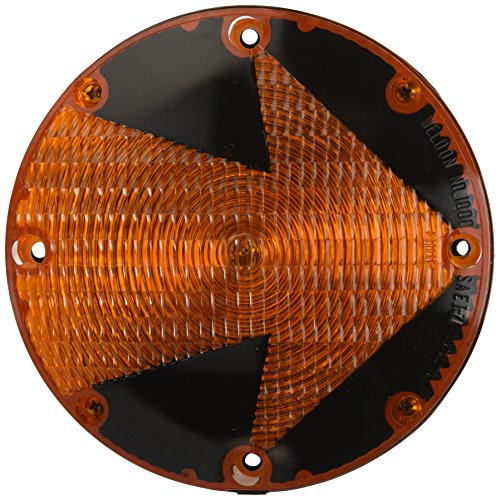 """Grote 56083 7"""" School Bus Light (Single Contact with Arrow Lens)"""