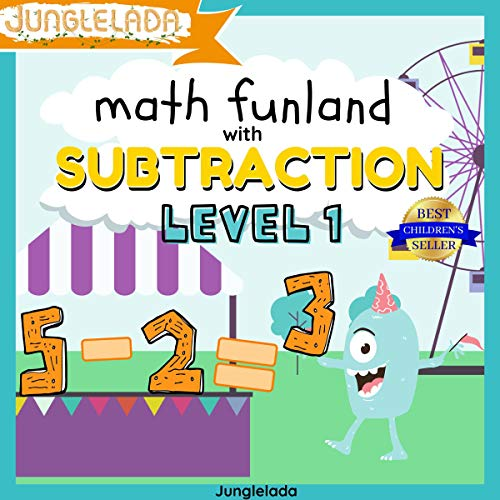 Math Funland with Subtraction: Level 1  By  cover art