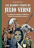 Los grandes relatos de Julio Verne 1. La vuelta al mundo en 80 días. Viaje al centro de la tierra: lA VUELTA AL MUNDO EN 80 DIAS -vIAJE AL CENTRO DE LA TIERRA