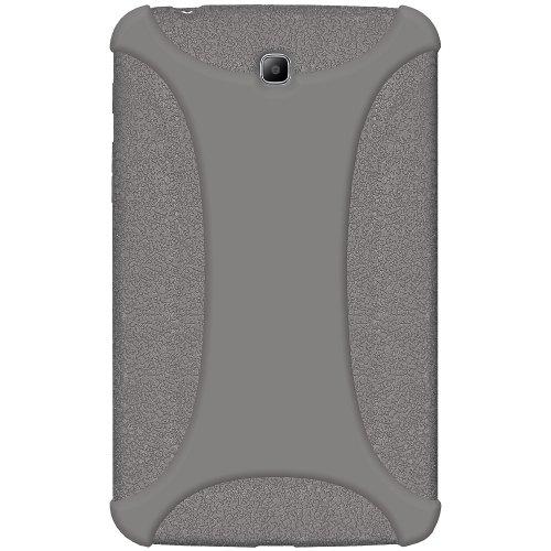Amzer Exclusive - Funda de Silicona para Samsung Galaxy Tab 3 GT-P3200, GT-P3210 y SM-T210 de 7', Color Gris