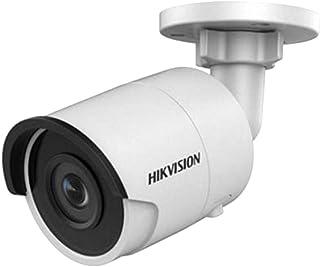 Cámara IP HIKVISION Bullet de 8 MP (4K) para Interior/Exterior con Clase de protección IP67. Visión Nocturna de 30 m y Lente Fija de 28 mm. Grabación en Tarjeta SD y PoE