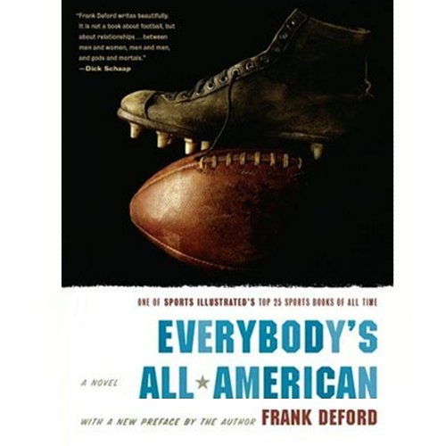 Everybody's All-American audiobook cover art