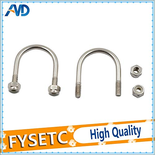 3D Printer - 3Sets U-Bolts for Holding LM8UU MK2S Y-Carriage for Prusa i3 3D Printer Spare Parts