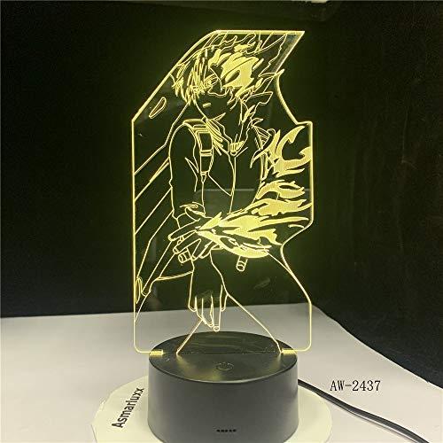 Nuevo Mapa de acción Noche luz lámpara de Mesa Novedad Noche luz decoración Regalo de cumpleaños