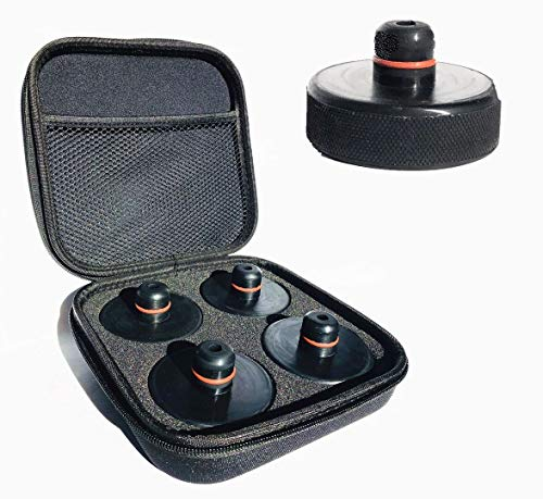 Chirano Lifting Jack Pad for Tesla Model 3/S/X/Y, 4 Pucks with a Storage Case, Accessories for Tesla Vehicles