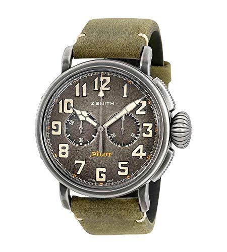Zenith Heritage Pilot Type 20 Chronograph Automatic Mens Watch 11.2430.4069/21.C773