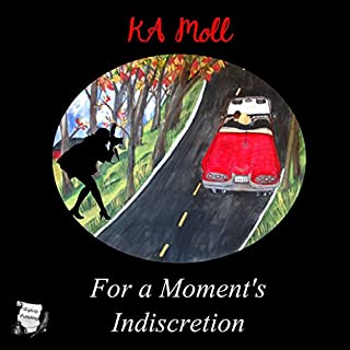 For a Moment's Indiscretion audiobook cover art