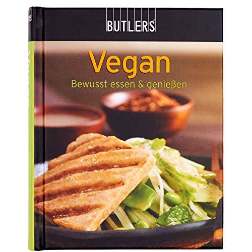 BUTLERS Kochbuch Mini-Kochbuch vegan - leckere Rezepte für Veganer - bewusst essen - handliche kompakte Form