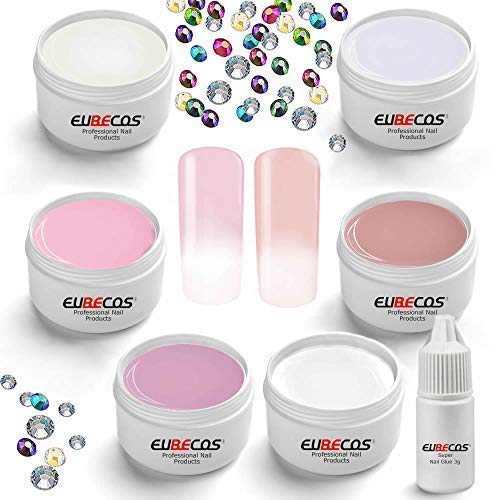 Eubecos 6 X 5ml Baby-Boomer Glamour Conjunto Ombre