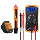Neoteck Electrical Test Kit, Mini Digital Multimeter + Receptacle Outlet Tester + Non-Contact