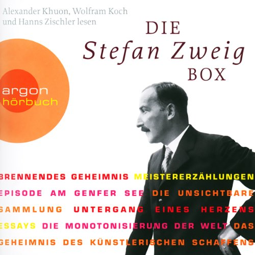 Die Stefan Zweig Box  By  cover art