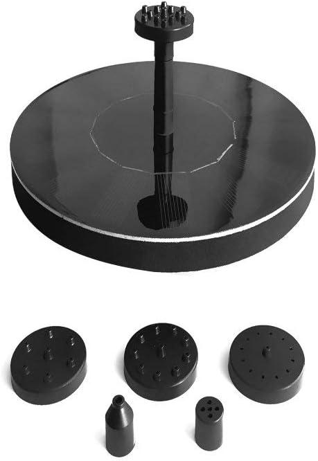 Topics on TV DX Solar Water Pump Birdbath G Max 71% OFF Round Pond Small