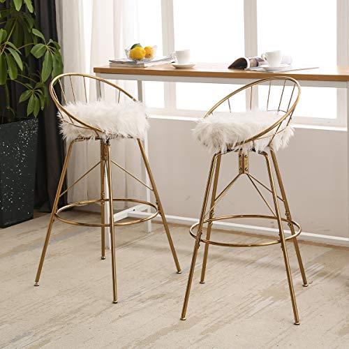 white bar stools - 9