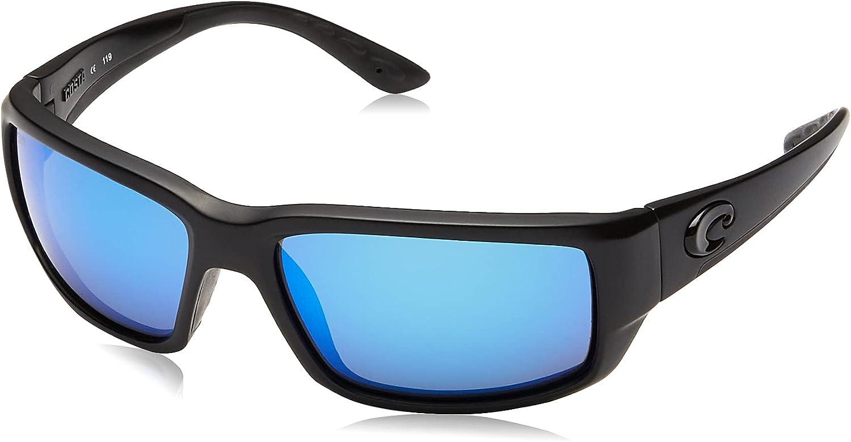 Costa Del Mar Men's Fantail 580g Rectangular Sunglasses