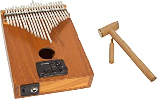 Kalimba Thumb Piano Package Includes: Kevin Spears Pro Electric Kalimba Thumb Piano 23-key W/Eq + Hammer & Tuner For Kalimba Thumb Piano