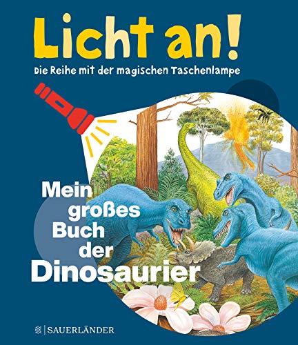 Mein großes Buch der Dinosaurier: Licht an! (Licht an! Die Reihe mit der magischen Taschenlampe)