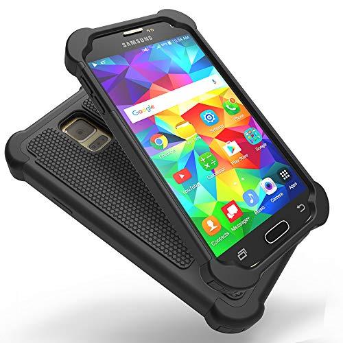 UniSpg for Galaxy S5 Case,Samsung S5 Phone Case [Shockproof] Hybrid...