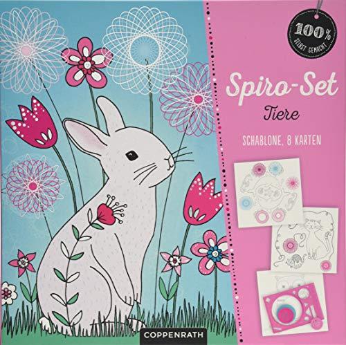 Spiro-Set Tiere (100% selbst gemacht)