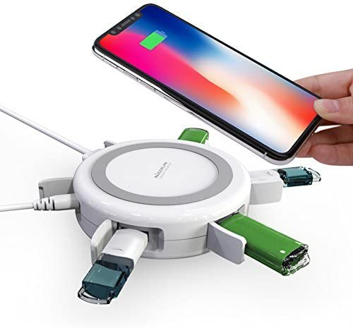Nillkin USB Charging Station for Multiple Char Finally resale start Wireless 4 years warranty Devices