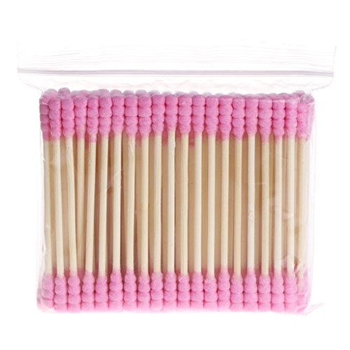 ZOUCY 100 Pièces Cosmétique Maquillage Coton Tampon Bâton Double Tête Oreilles Bourgeons Outils De Nettoyage Nouveau