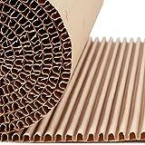 El rollo de cushionPaper™ por G2C   la alternativa de papel a los envoltorios de burbujas   5 metros de material x 60 cm x 12 mm de espesor   Reciclable, naturalmente