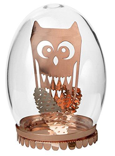 Pluto Glass Egg Owl