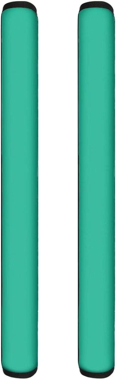 Forchrinse Aqua Refrigerator Door Handle Cover 1 Pair,Anti-skid