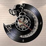 Nzlazbc Classical Symphony Orchestra Music Room Piano Player Vinyl Record Wall Clock Studio Pianist Wall Art Musician Music Teacher Gift