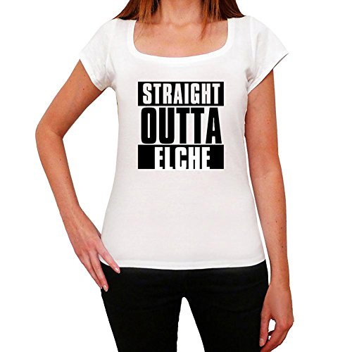One in the City Straight Outta Elche, Camiseta para Mujer, Straight Outta Camiseta, Camiseta Regalo