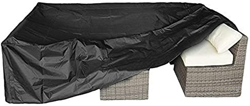 """Patio Furniture Set Cover Outdoor Sectional Sofa Set Covers Outdoor Table and Chair Set Covers Water Resistant Large 126"""" ..."""