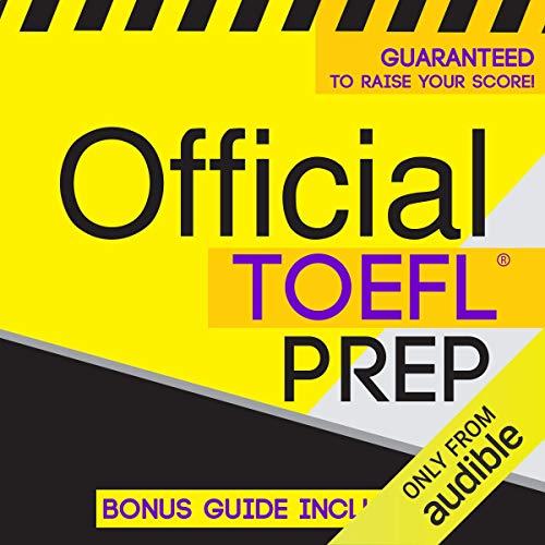 Couverture de Official TOEFL Prep