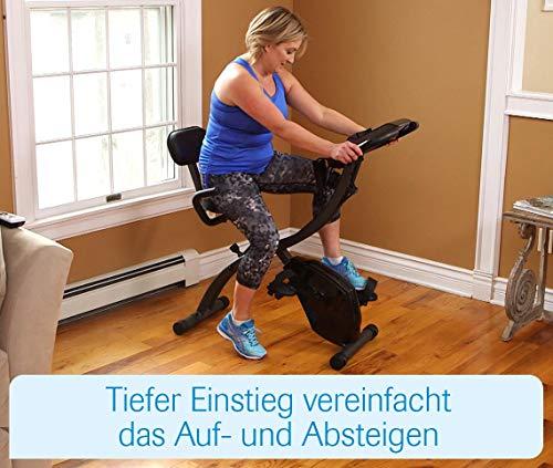 Mediashop Slim Cycle Heimtrainer, Liegefahrrad und Oberkörper-Trainer | zusammenklappbar | Radfahren und Ruderbewegung für effektives Kardio- & Krafttraining | Das Original aus dem TV - 8
