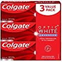3-Pack Colgate Optic White Fluoride Toothpaste 3.2 Oz
