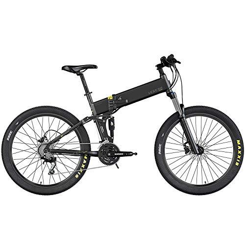 Legend Etna Vélo VTT Eléctrique VAE E-MTB Smart eBike 27,5″, Vitesse Max 25km/h, Double Suspension RockShox + KS, Freins Disque Hydraulique, Batterie ION 36V