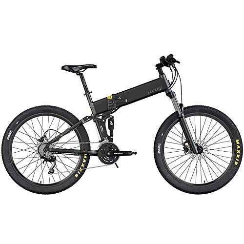 Legend Etna Vélo VTT Eléctrique VAE E-MTB Smart eBike 27,5', Vitesse Max 25km/h, Double Suspension RockShox + KS,...