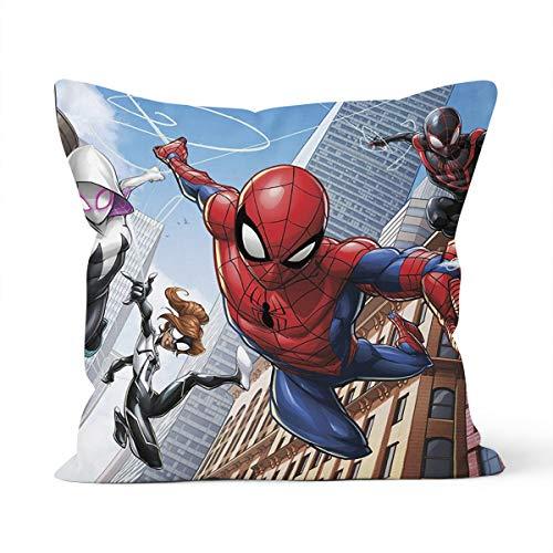 Funda de cojín para hombre, diseño de araña, para dormitorio, decoración de 40 x 40 cm