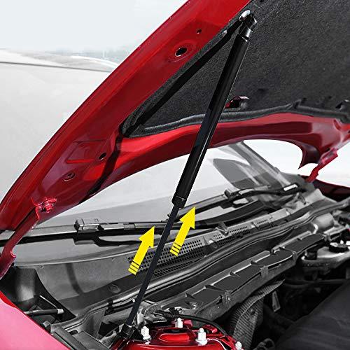 HIGH FLYING für Mazda3 2015-2018 Motorhauben Gasfeder Schwarz 2-er Set