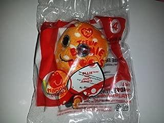 Mcdonald 2014 Happy Meal Toy Ty Teenie Beanie Boos Ollie # 4 Orange Octopus Plush