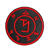 Angel Banisher Symbol Supernatural Witchcraft Embroidered Iron On Sew On Patch Tattoo Badge Tattoo Emblem