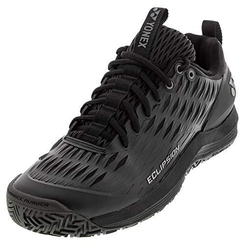 YONEX Men's Power Cushion Eclipsion 3 Tennis Shoes Size: 11.5 Black Silver