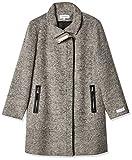 Calvin Klein Women's Wool Jacket, Tin Black, Large