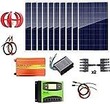 Fangfang Turbina de Viento, 1,4 kW Energía Eólica Solar:...