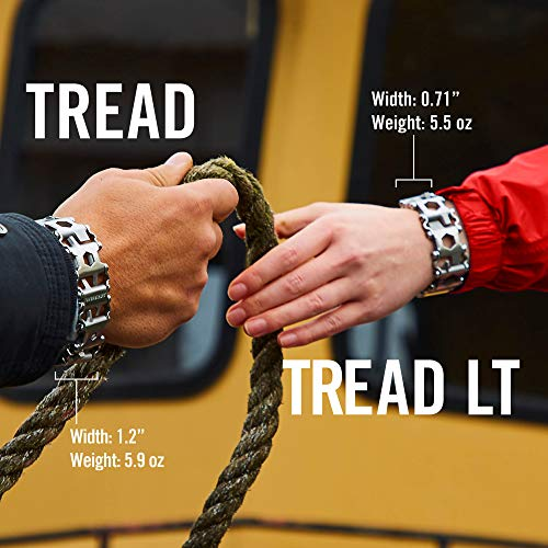 Product Image 1: LEATHERMAN, Tread Bracelet, The Original Travel Friendly Wearable Multitool, Built in the USA, Stainless Steel