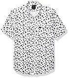 RVCA Men That'll Do Print Button-Up Shirt White Large